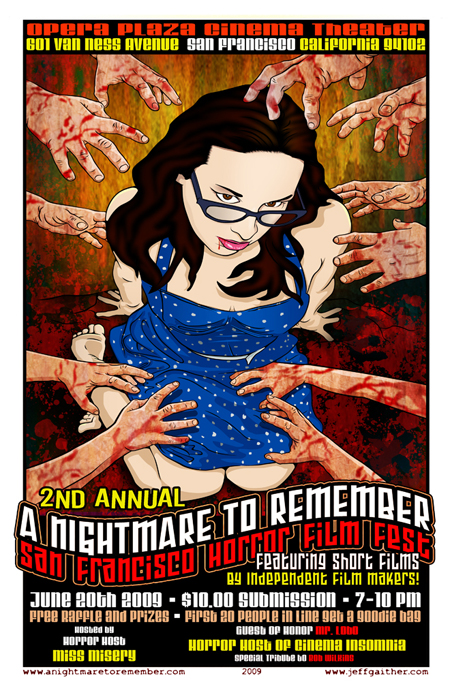 """Hubris"" screens at the ""Nightmare To Remember"" Film Festival"