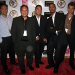 "with George, Mike, Ray, Mel, and Stan at the ""Hubris"" red carpet screening in L.A."