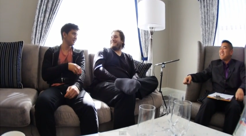 "Interview with Gareth Evans and Iko Uwais on ""Raid 2: Berandal"""